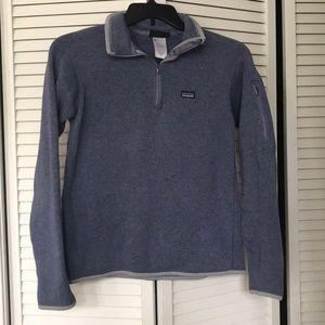 Patagonia quarter zip sweater size medium